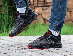 Мужские кроссовки Puma черные, Копия