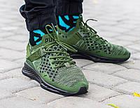Мужские кроссовки Puma green, Копия