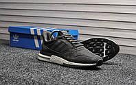 Мужские кроссовки Adidas zx 500 Gray, серые. Размеры (41,43,44,46), фото 1