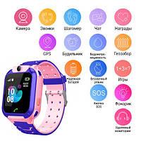 Smart часы детские с GPS TD07S + камера, pink