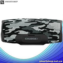 Портативная колонка JBL CHARGE 4 Камуфляж/Хаки - беспроводная Bluetooth колонка + Power Bank (Реплика), фото 3