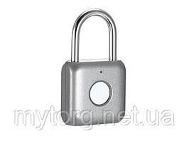 Умный замок Xiaomi USB биометрический  Серебристый
