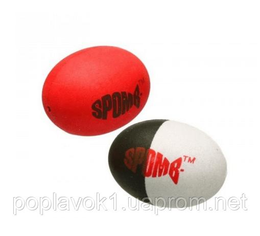 Поплавок Spomb Hi-Vis Red + Black & White - 2шт