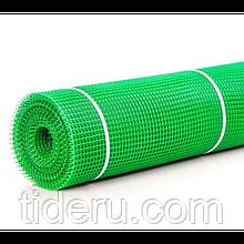 Сетка 13*13 пластмассовая 1.0х20 м (зеленая) квадрат