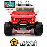 Электромобиль Kidsauto Jeep Wrangler Style MP4 Red (SX1718)