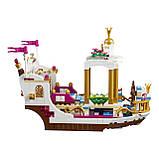 """Дитячий конструктор для дівчаток LELE """"Королівський корабель Аріель"""", фото 2"""
