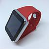 Умные часы смарт часы - Smart Watch Phone A1 в стиле Apple Watch Красные, фото 6