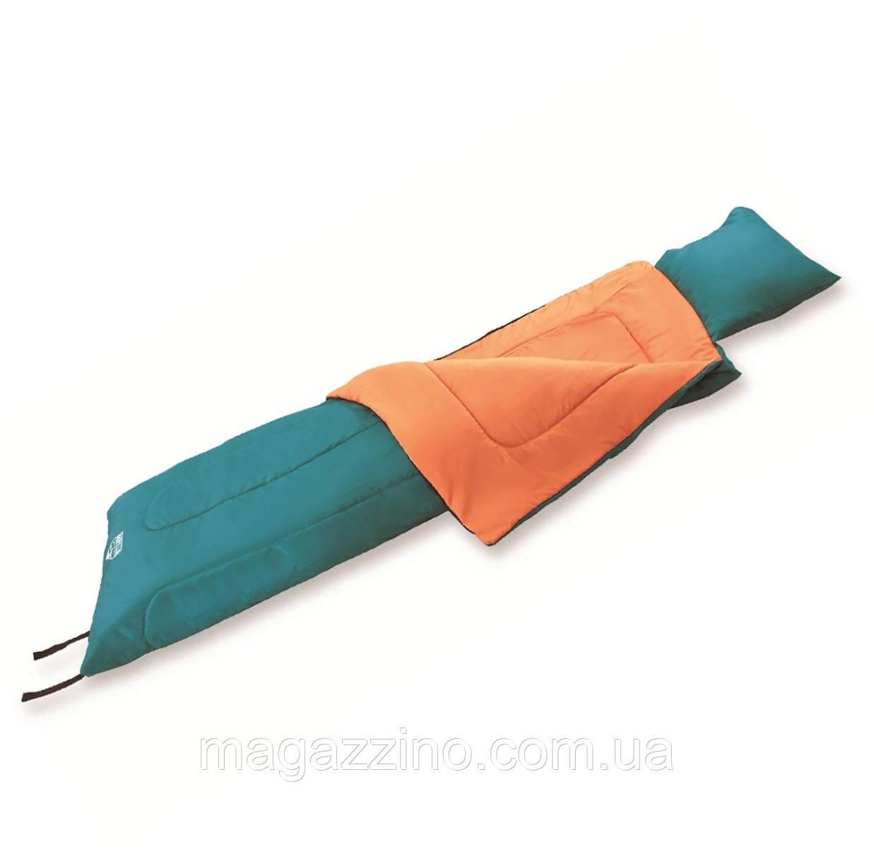 Спальный мешок одеяло, Bestway Hibernator-200, 190 x 85 см.