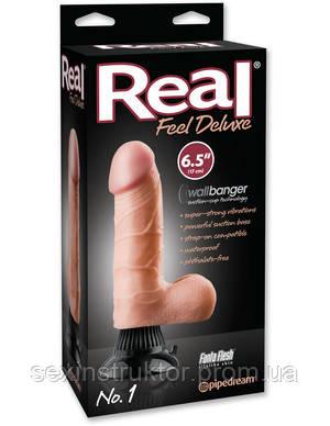 "Реалистичный вибратор - Real Feel Deluxe No.1 - 6.5"" Flesh"