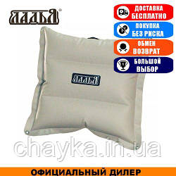 Байдарочная подушка надувная Ладья ЛПБ-650 ПВХ; 11х37х37. Надувная подушка для сидения Ладья ЛПБ.