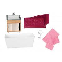 Игровой набор LORI Мебель для ванной (LO37029Z)