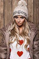 Женская модная шапка с дорогими камнями (расцветки), фото 1