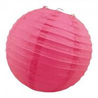 Декор подвесной Шар (35см) малиновый