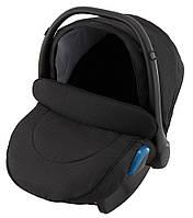 Детское автокресло Adamex Kite BR614 для детей от рождения до 1 года весом до 13 кг Черный (люрекс)