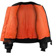 Куртка лётная MA1 MilTec Black 10401002, фото 3