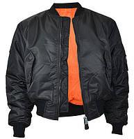 Куртка лётная MA1 MilTec Black 10401002