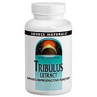 Экстракт Трибулуса, 750 мг, Source Naturals, 60 таблеток