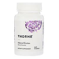 Комплекс для Поддержки Надпочечников Адренал, Adrenal Cortex, Thorne Research, 60 капсул