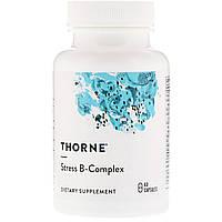 В-Комплекс от Стресса, Stress B-Complex, Thorne Research, 60 капсул