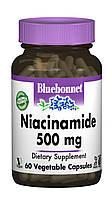Ниацинамид (B3) 500мг, Bluebonnet Nutrition, 60 гелевых капсул
