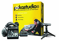 Комплект для записи BEHRINGER PODCASTUDIO PODCASTUDIO USB