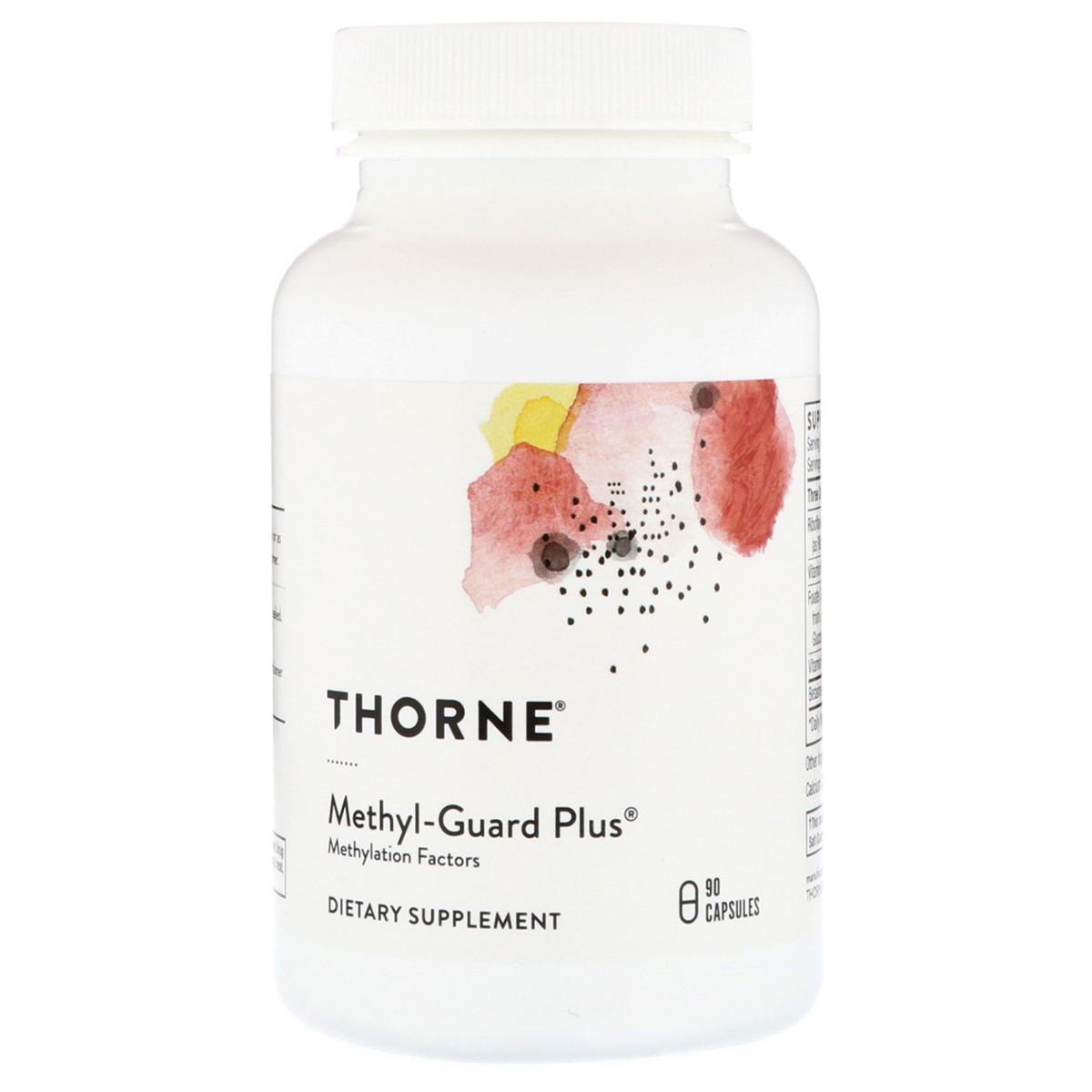 Метил-Гард, Витамины для Мозга, Methyl-Guard Plus, Thorne Research, 90 капсул