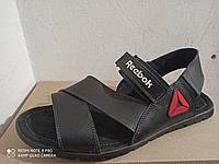 Кожаные мужские летние сандали Reebok большого размера 46, 47, 48, 49, 50, фото 1
