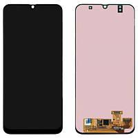 Дисплейный модуль / экран (дисплей + Touchscreen) для Samsung Galaxy A30 2019 (A305F), OLED, BLack
