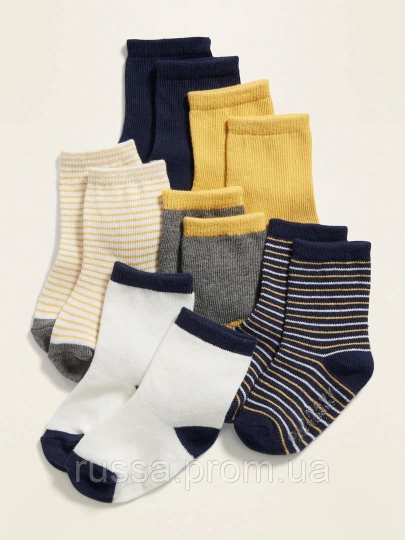 Набор детских носочков 6 пар Олд Неви для мальчика