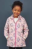 Розовая детская ветровка с единорогами НМ для девочки, фото 2
