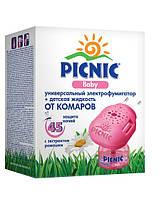 «Picnic» Baby  Электрофумигатор + жидкость от комаров 45 ночей СРОК до 02.2024
