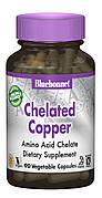 Хелатная Медь, Albion, Bluebonnet Nutrition, 90 гелевых капсул