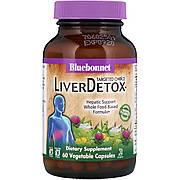 Комплекс для Детоксикации Печени, Liver Detox, Targeted Choice, Bluebonnet Nutrition, 60 растительных капсул