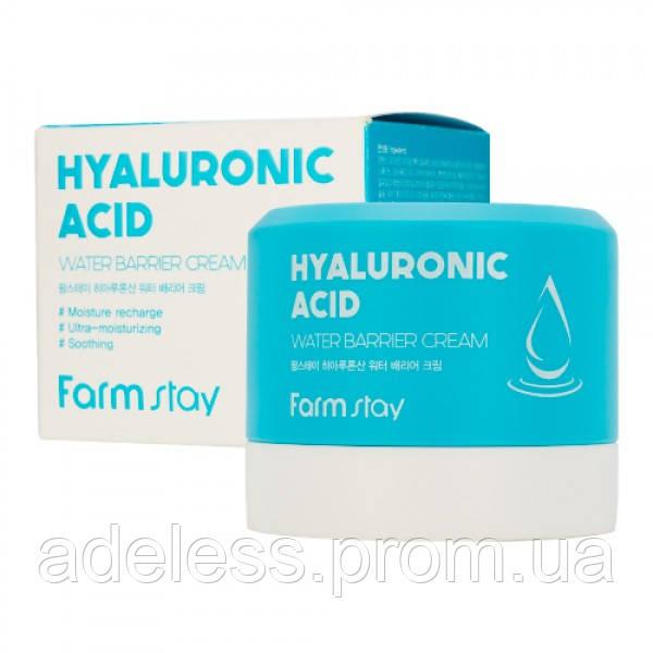Успокаивающий крем с гиалуроновой кислотой FarmStay Hyaluronic Acid Water Barrier Cream, 80 мл