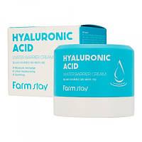 Успокаивающий крем с гиалуроновой кислотой FarmStay Hyaluronic Acid Water Barrier Cream, 80 мл, фото 1