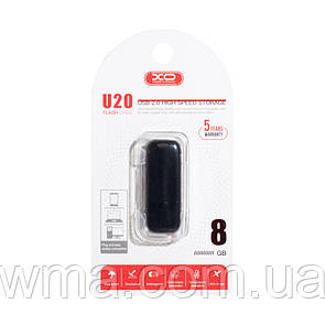 USB Flash Drive XO U20 8GB Цвет Чёрный