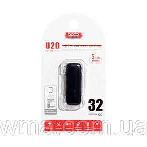 USB Flash Drive XO U20 32GB Цвет Чёрный