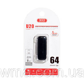 USB Flash Drive XO U20 64GB Цвет Чёрный