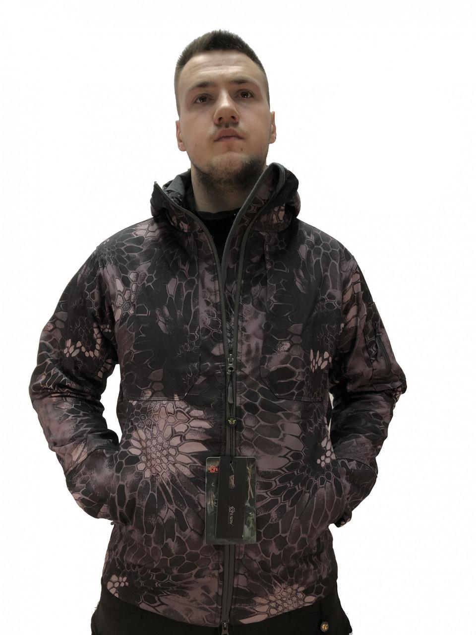Тактична куртка Softshell Urban 03. ESDY. 2 внутр кармани. Кріптек