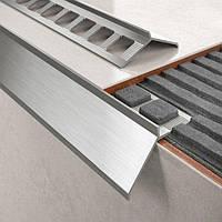Профиль балконный для открытой террасы и балкона алюминиевый карниз капельник отлив длина 2,5м.п