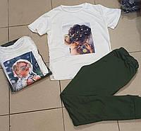 Костюм женский Размеры 44,46,48,50,52.Цвет брюк чёрный, хаки,, фото 1