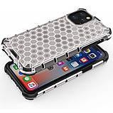 """Ударопрочный чехол Honeycomb для Apple iPhone 11 Pro (5.8""""), фото 3"""