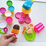Набор для лепки Фабрика мороженого Чарівний Пластилін MK 0078, фото 2