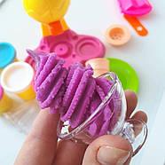 Набор для лепки Фабрика мороженого Чарівний Пластилін MK 0078, фото 4