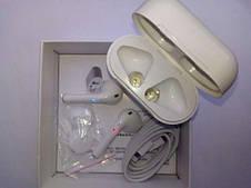 Беспроводные наушники Airpods 2 с зарядным боксом + монопод для селфи, фото 2
