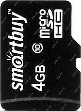 Карта памяти MicroSD 4Gb Class10 флеш карта 4ГБ sd card микро сд со склада, фото 3