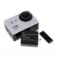 Аккумулятор PG1050 перезаряжаемый литий-ионный батарея 1050mAh для экшн камеры Eken V8s H8 H9 H8R H9R H8 Pro, фото 2