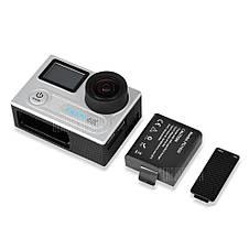 Аккумулятор PG1050 перезаряжаемый литий-ионный батарея 1050mAh для экшн камеры Eken V8s H8 H9 H8R H9R H8 Pro, фото 3