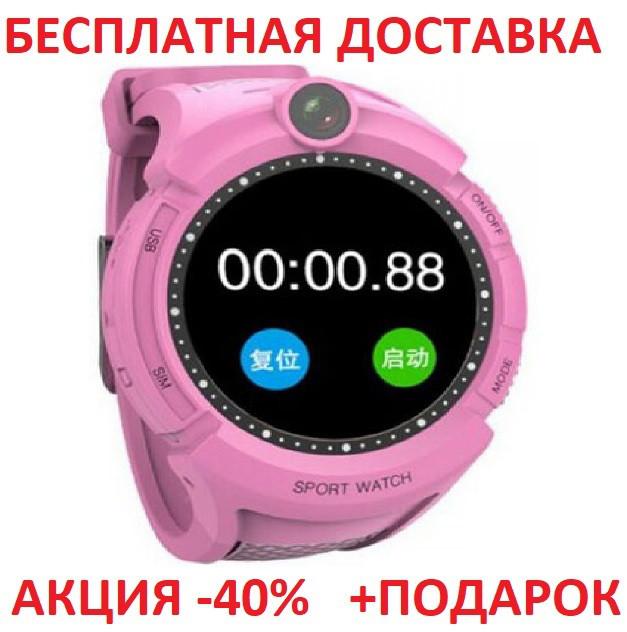 Умные смарт часы детские телефон с GPS Smart Baby Watch Q610S блистер часы телефон GPS трекер