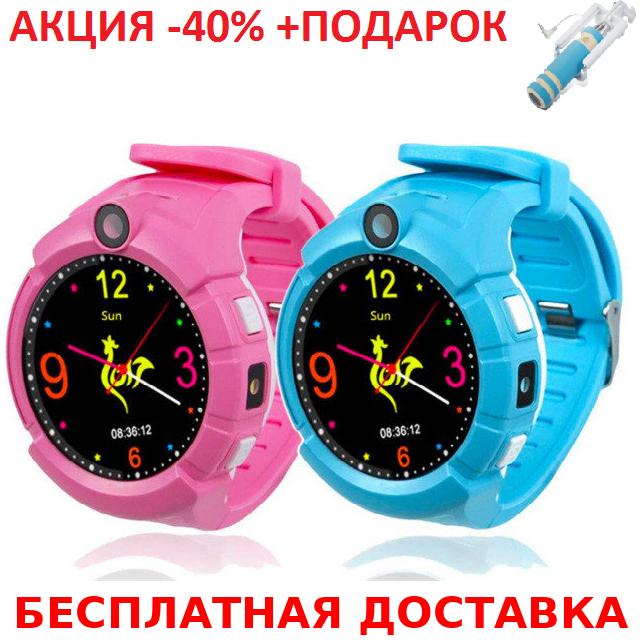 Умные смарт часы детские телефон с GPS Smart Baby Watch Q610S мат часы телефон GPS трекер